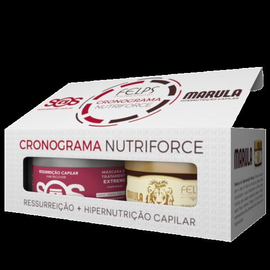 FELPS CRONOGRAMA NUTRIFORCE SOS + MARULA