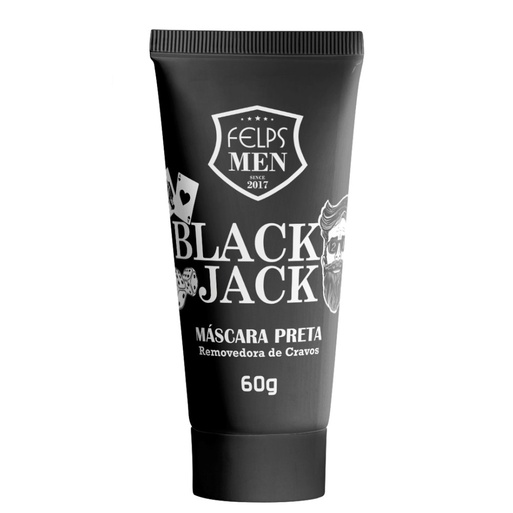 Felps Men Black Jack Mascara Preta