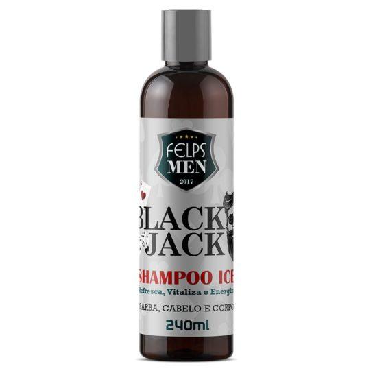 FELPS MEN BLACK JACK SHAMPOO ICE