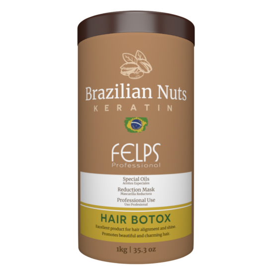 FELPS BRAZILIAN NUTS HAIR BOTOX