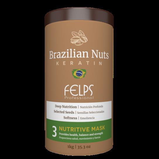 FELPS BRAZILIAN NUTS MÁSCARA MANUTENÇÃO