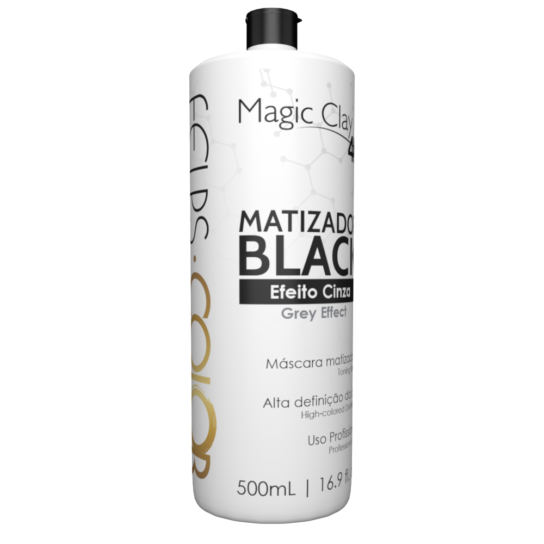 FELPS COLOR MAGIC CLAY 4K MATIZADOR BLACK EFEITO CINZA