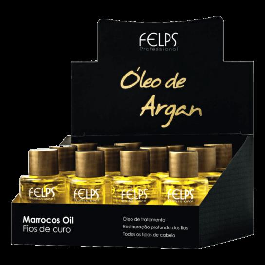 FELPS ÓLEO DE ARGAN (CAIXA C/ 12UN)