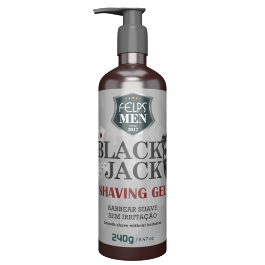 FELPS MEN BLACK JACK SHAVING GEL