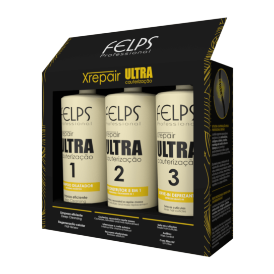 FELPS XREPAIR KIT ULTRA CAUTERIZAÇÃO