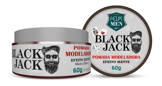 FELPS MEN BLACK JACK POMADA MATTE