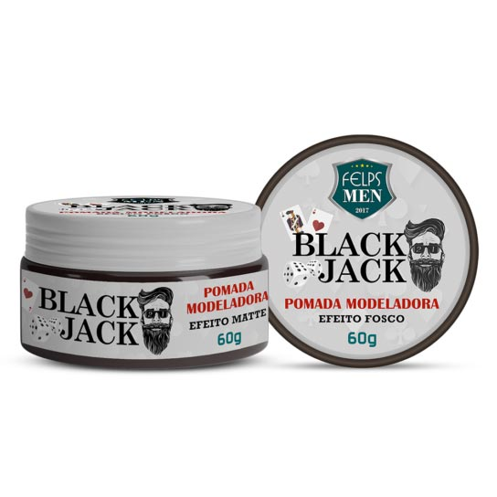 499c13816 FELPS MEN BLACK JACK POMADA MATTE - Felps