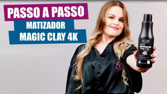 Passo a Passo do Matizador Magic Clay 4k Xcolor