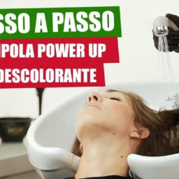 Passo a Passo da Ampola Power Up + Pó Descolorante