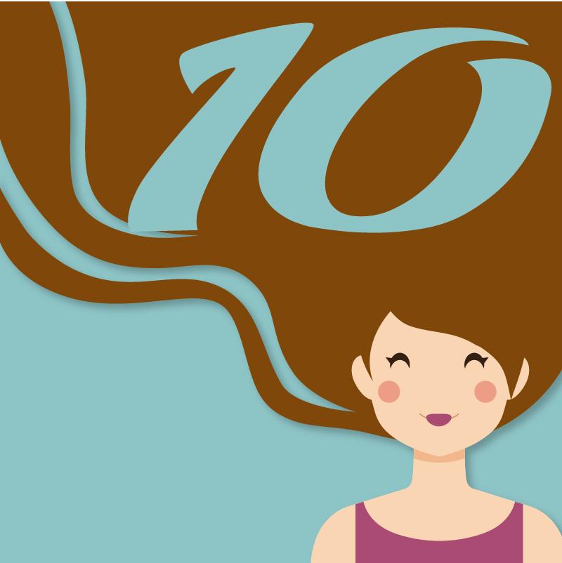 10 dados interessantes sobre cabelos